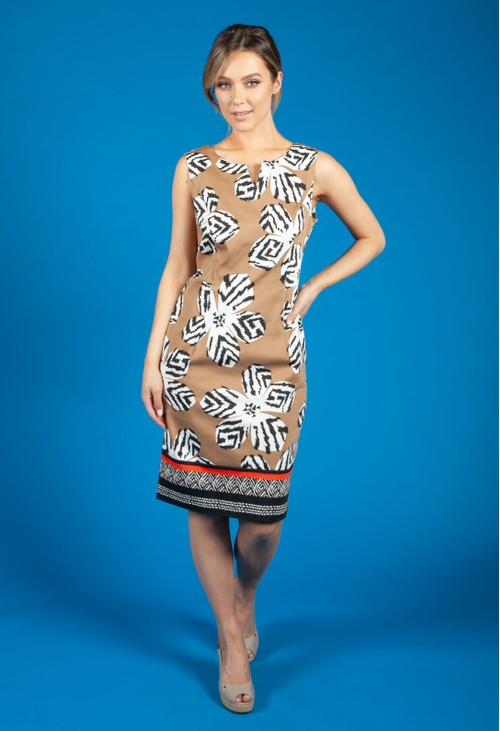 Gerry Weber Animal Print Sleeveless Dress
