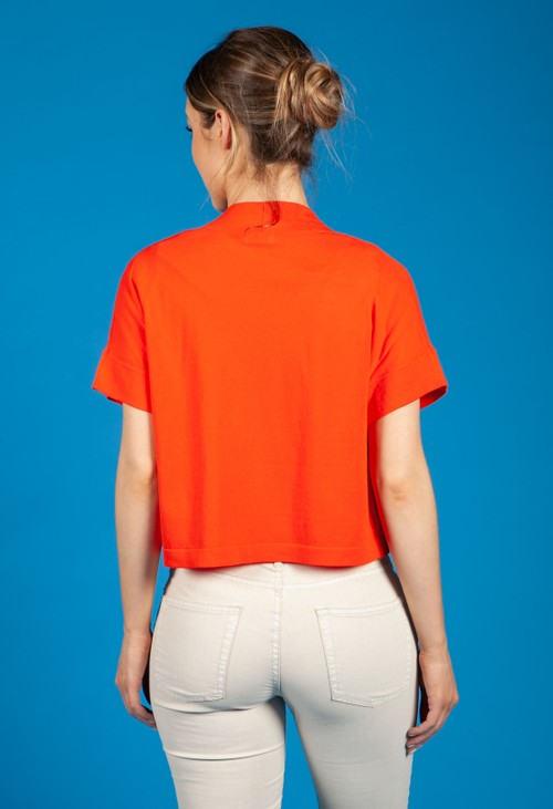 Gerry Weber Tangerine Fine Knit Cardigan