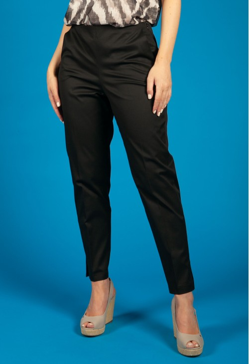 Gerry Weber 7/8-length trousers with vertical pin tucks