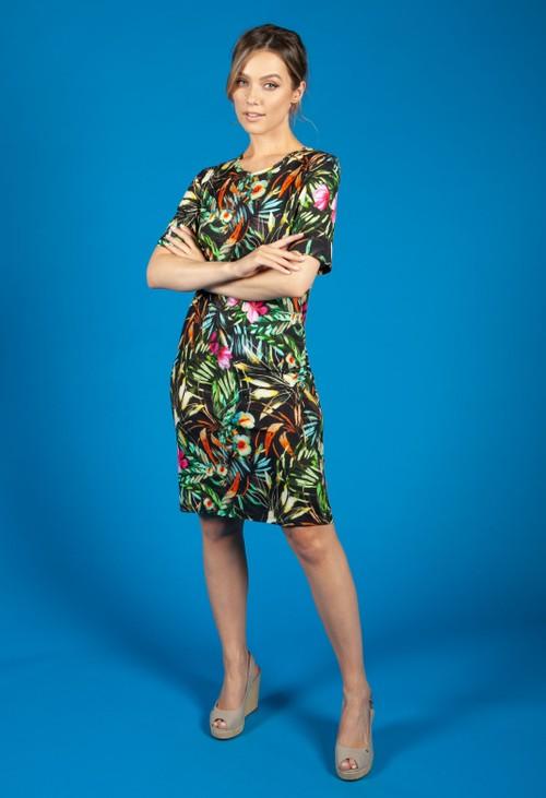 Bicalla Tropical Print Dress