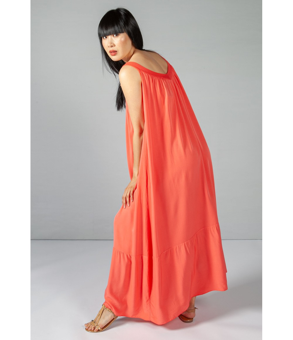 Sophie B Coral Relaxed Fit Summer Dress