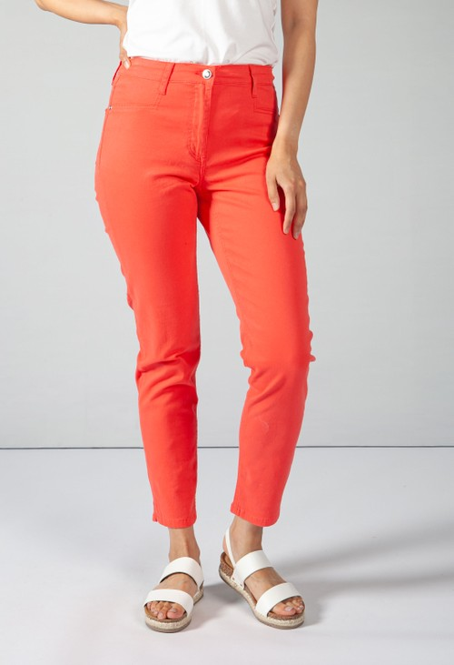 Betty Barclay COTTON JEAN IN CORAL