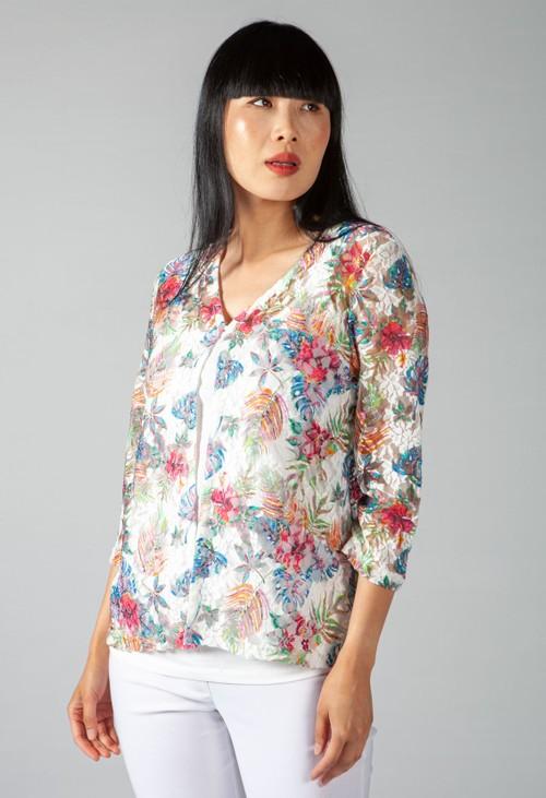 ERFO Floral Lace Cardi