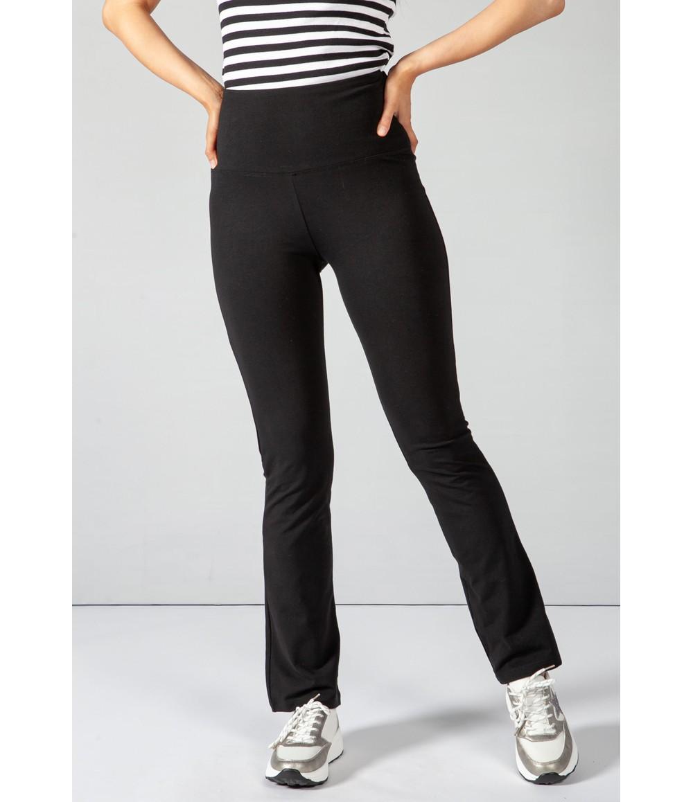 Pamela Femme Black Slim Fit Trousers