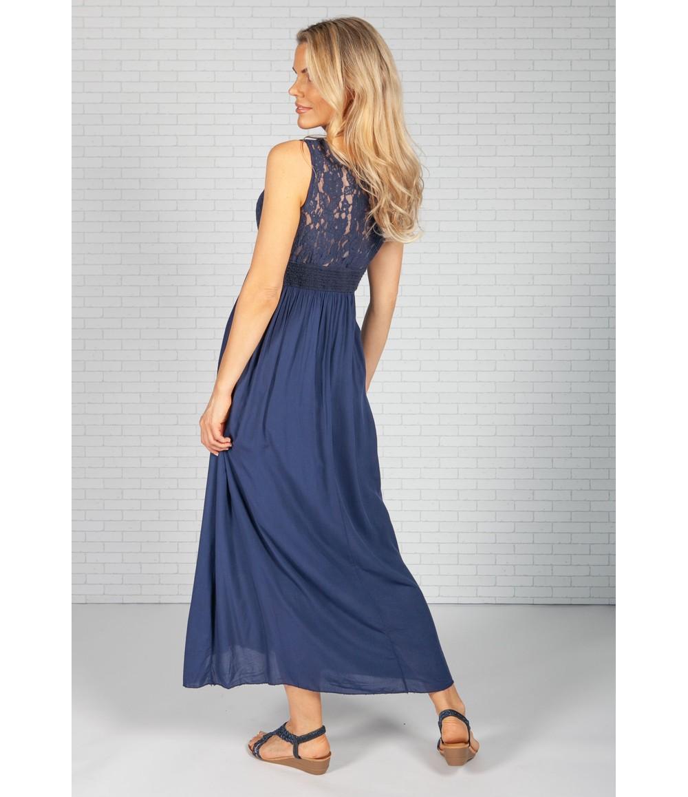 Pamela Scott Navy Summer Dress