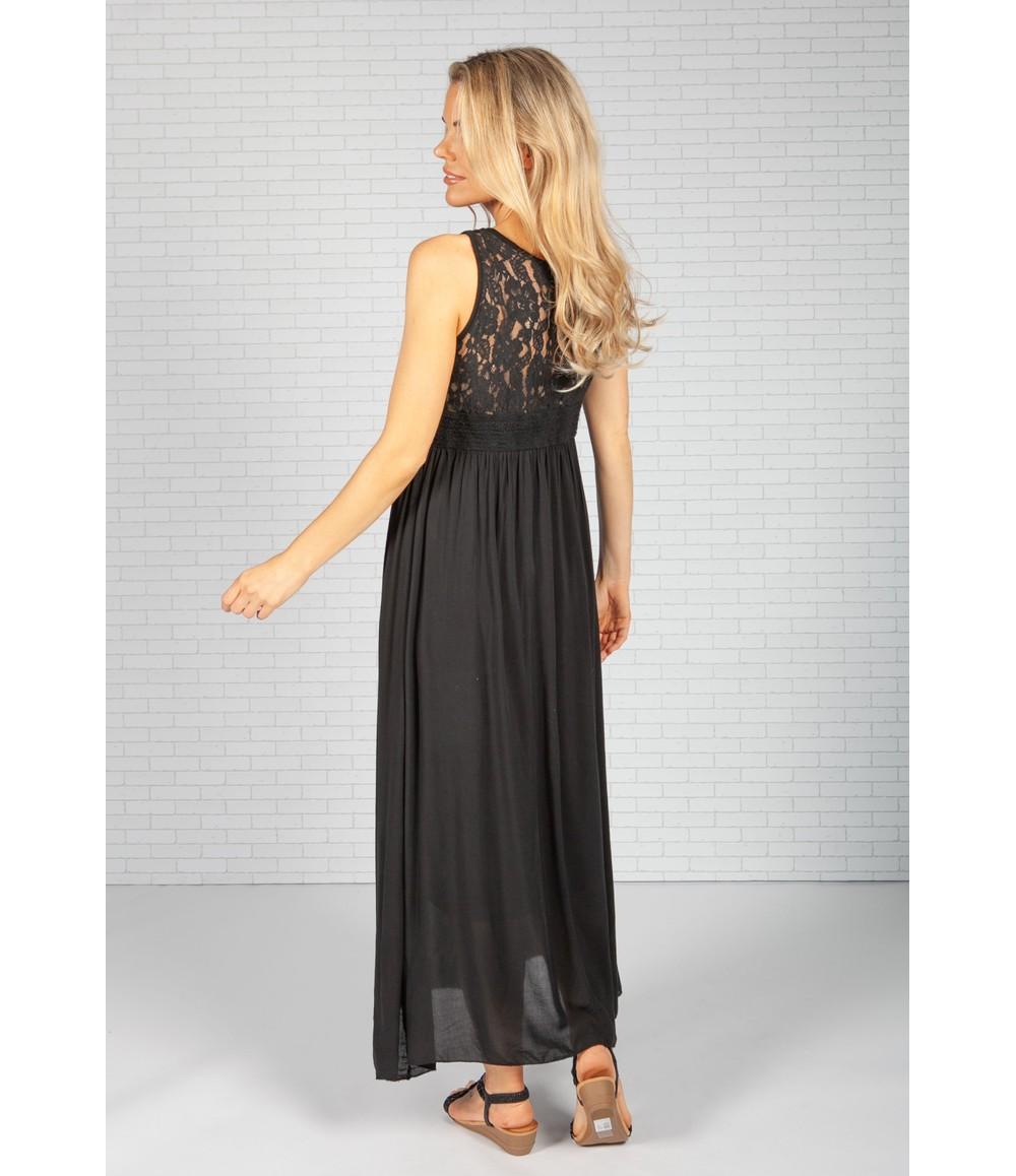 Pamela Scott Black Summer Dress