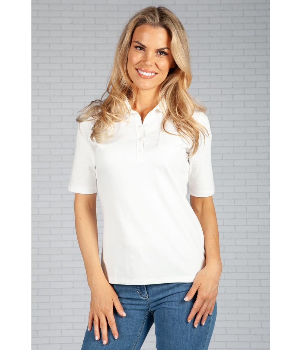 Gerry Weber White Polo Shirt