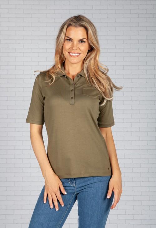 Gerry Weber Light Khaki Polo Shirt
