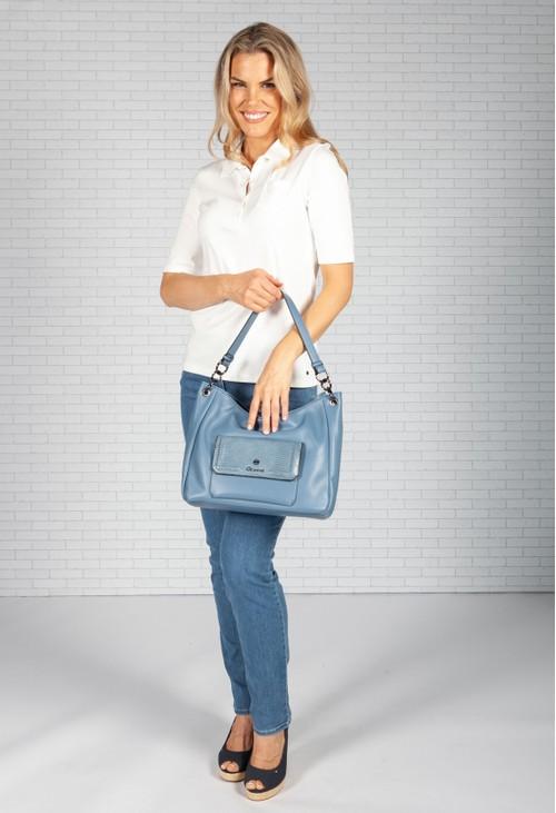 Gionni Sea Blue Hobo Bag