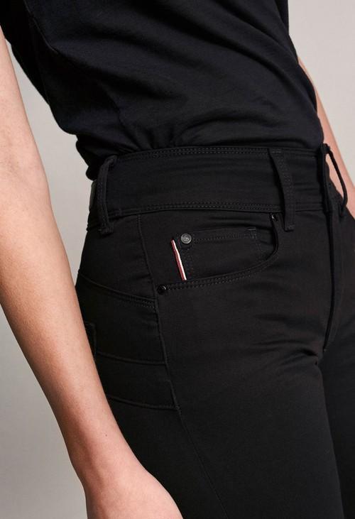 Salsa Jeans PUSH IN SECRET SLIM TRUE BLACK JEANS IN 30 LEG