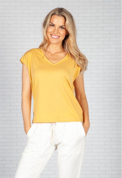 Opus Saltobo Shirt with V-neck
