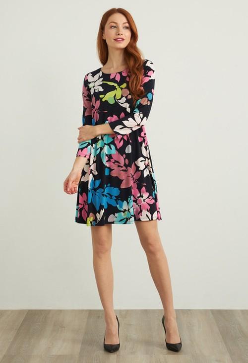 Joseph Ribkoff Floral Midi Dress