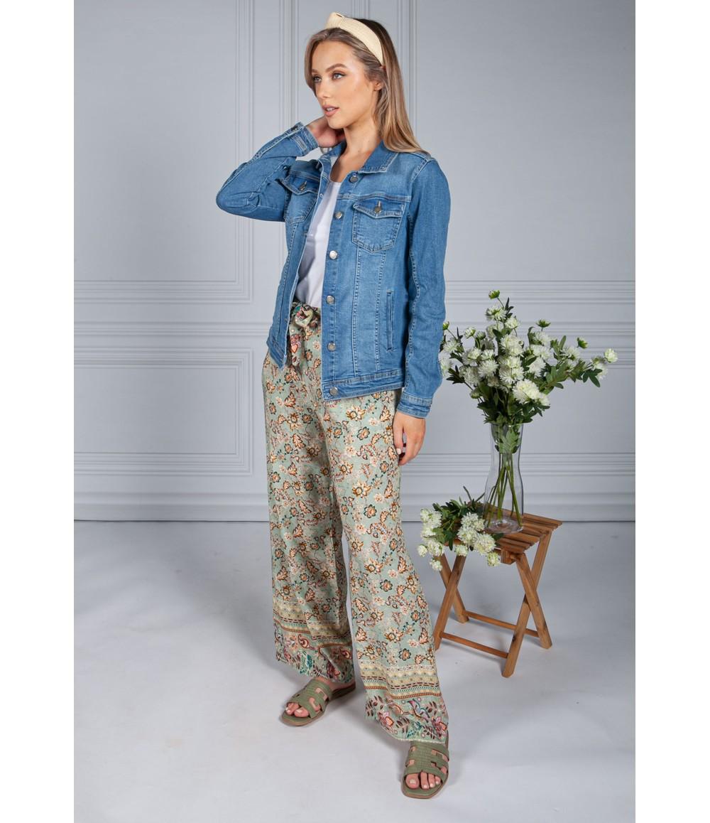 Zapara Jeans Blue Denim Jacket