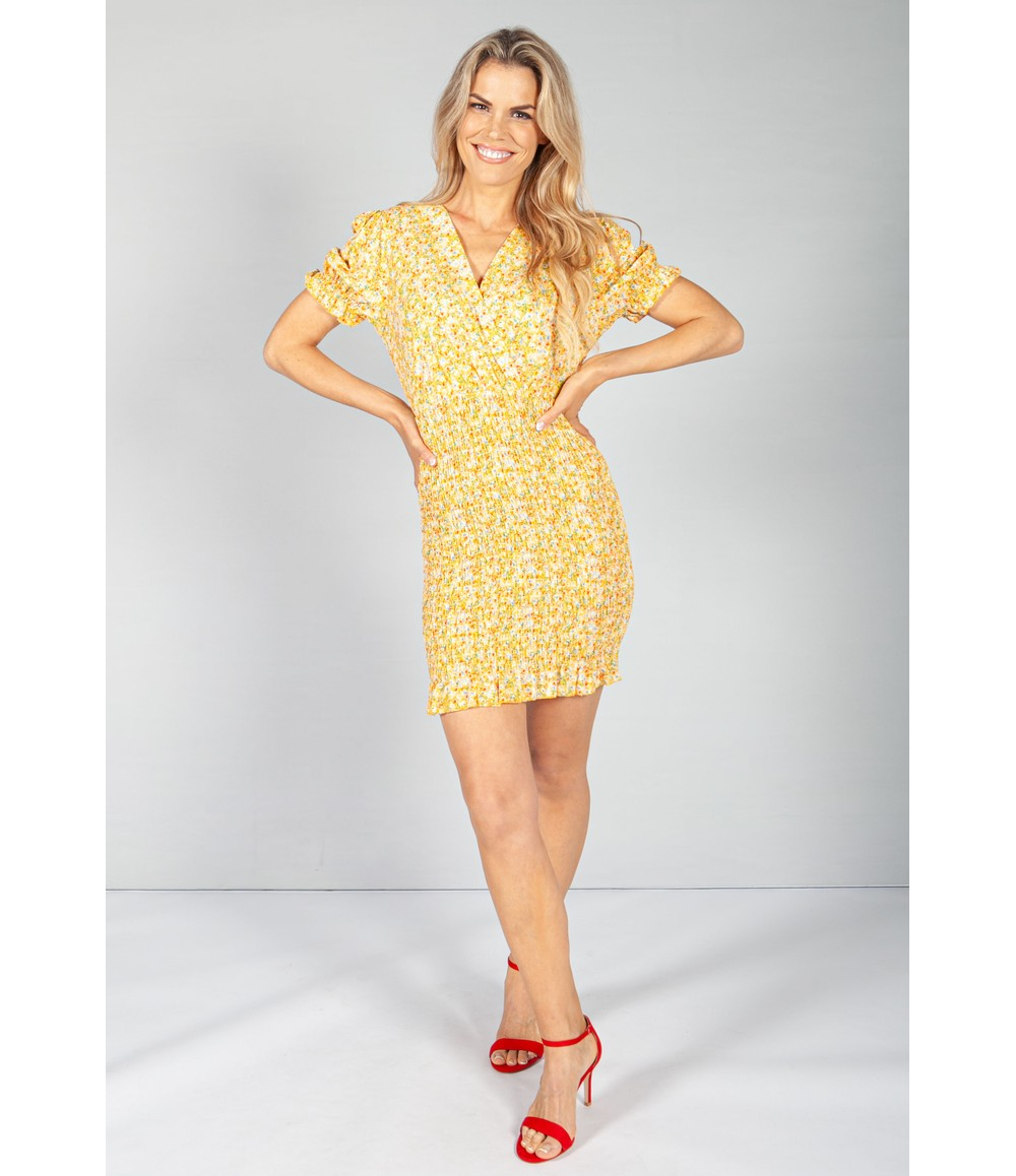 Pamela Scott Sunshine Bloom Smocking Dress