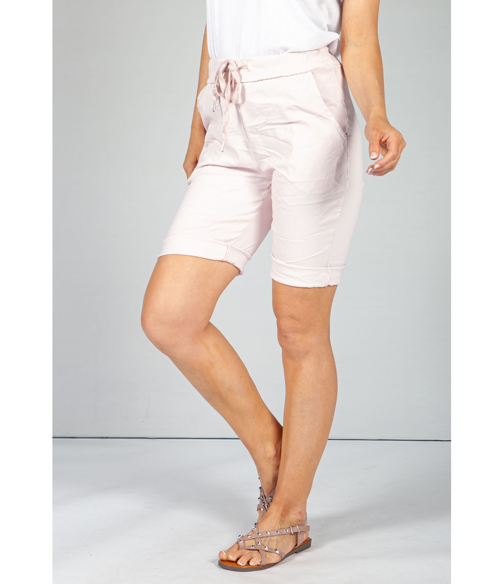 Pamela Scott Baby Pink Summer Shorts