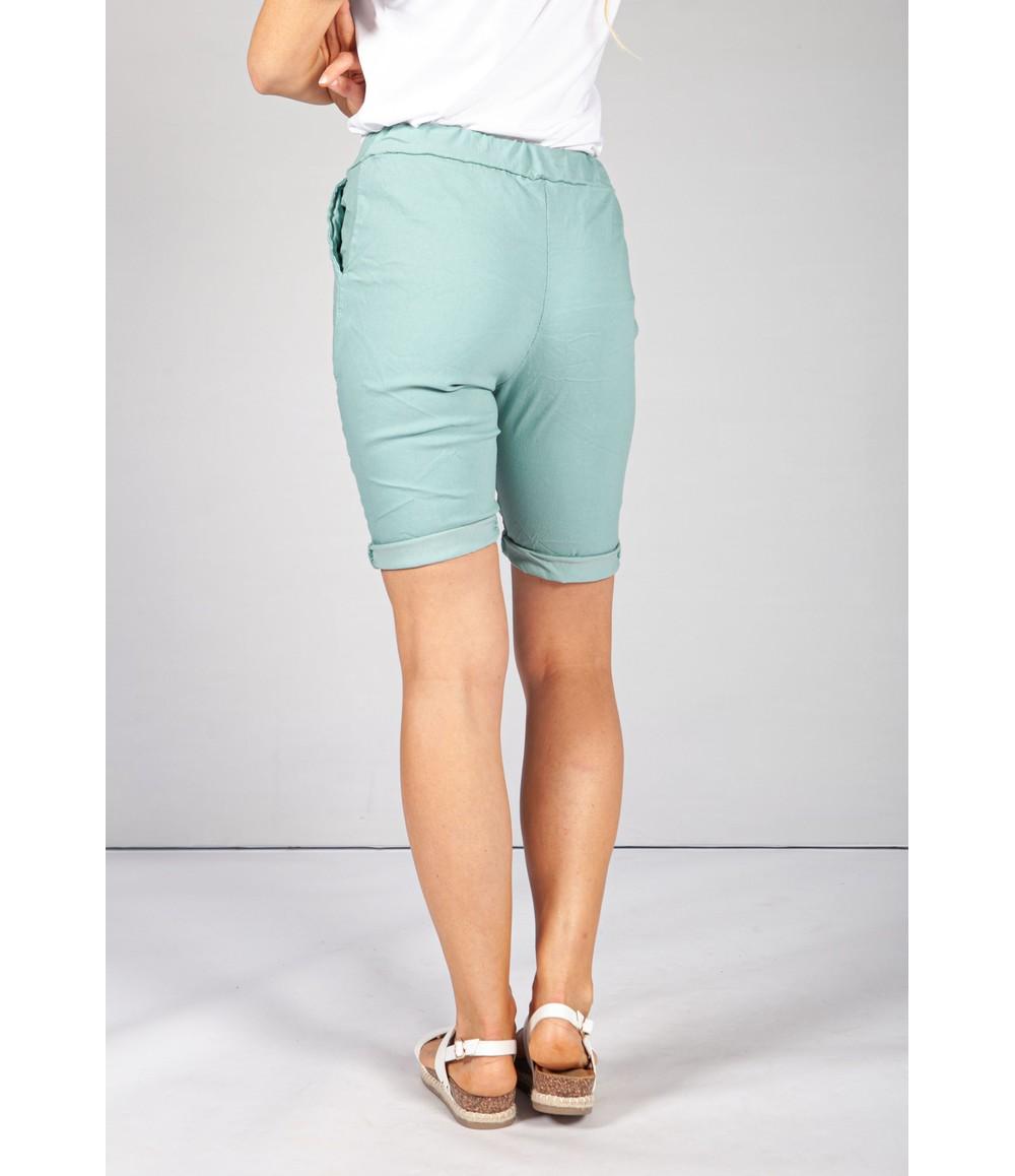 Pamela Scott Pistachio Summer Shorts