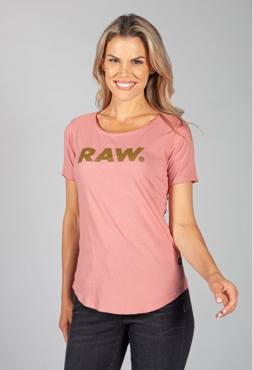 G-Star Raw Dusty Rose Graphic Slim T-Shirt