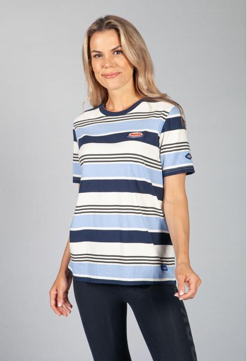Superdry Cali Blue Stripe T-Shirt