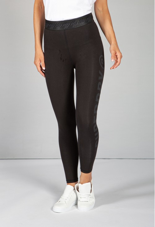 Superdry Essential 7/8 Leggings in Black