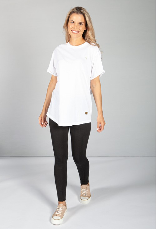 G-Star Raw Loose Fit White T-Shirt