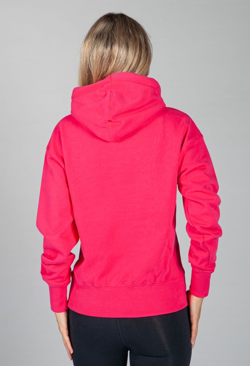 Superdry Mountain Sport Mono Hoodie in Hot Pink