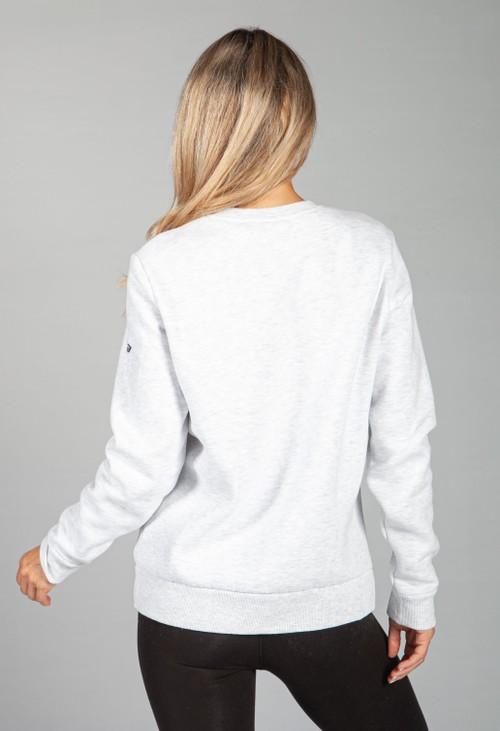 Superdry Vintage Logo Cali Sweatshirt in Ice Marl