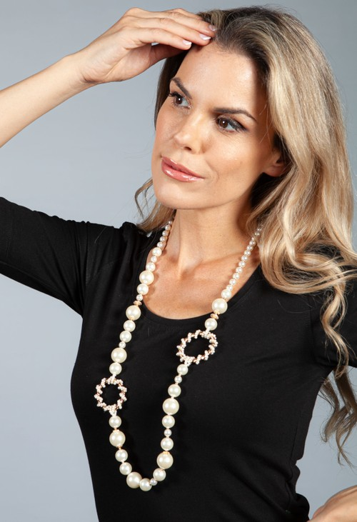 PS Accessories Pearl Necklace