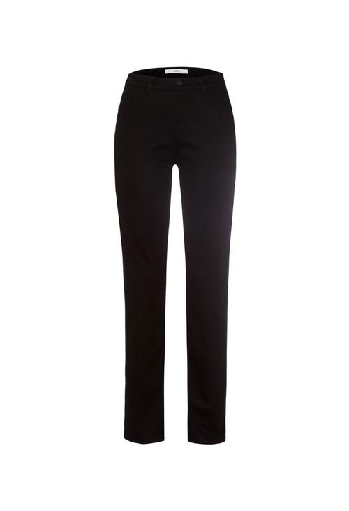 Brax Black Carola Feminine Short Fit