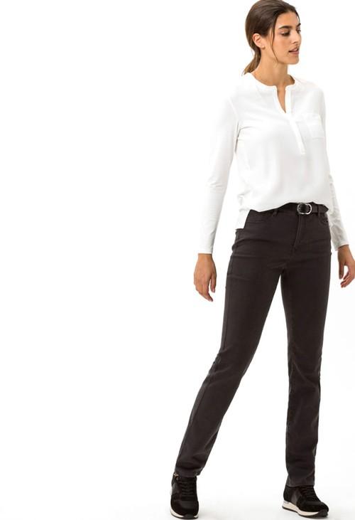 Brax Grey Mary Short Slim Fit