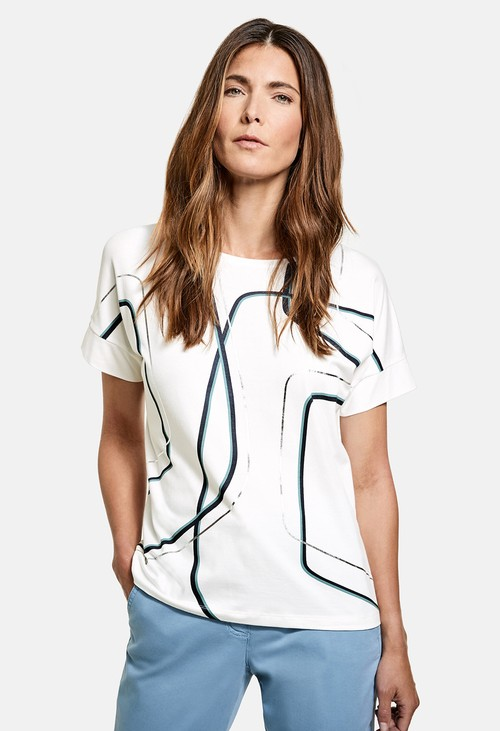 Gerry Weber Graphic Pattern Top