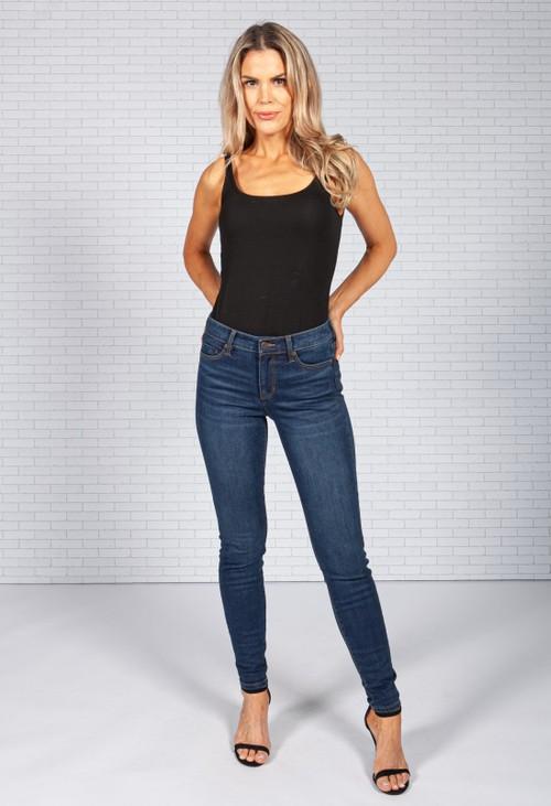 Liverpool Slim Leg Darker Wash Jeans *Recommend 1 Size Down*