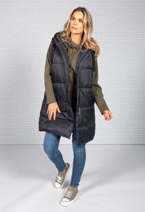 ERFO Midnight Navy Quilted Gilet