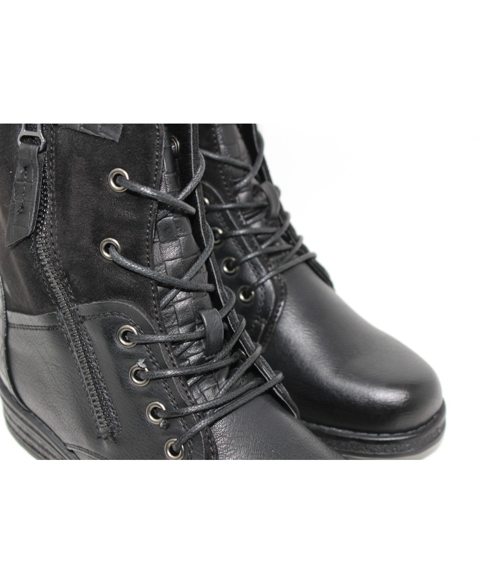 Shoe Lounge Black Laced Ankle Boot