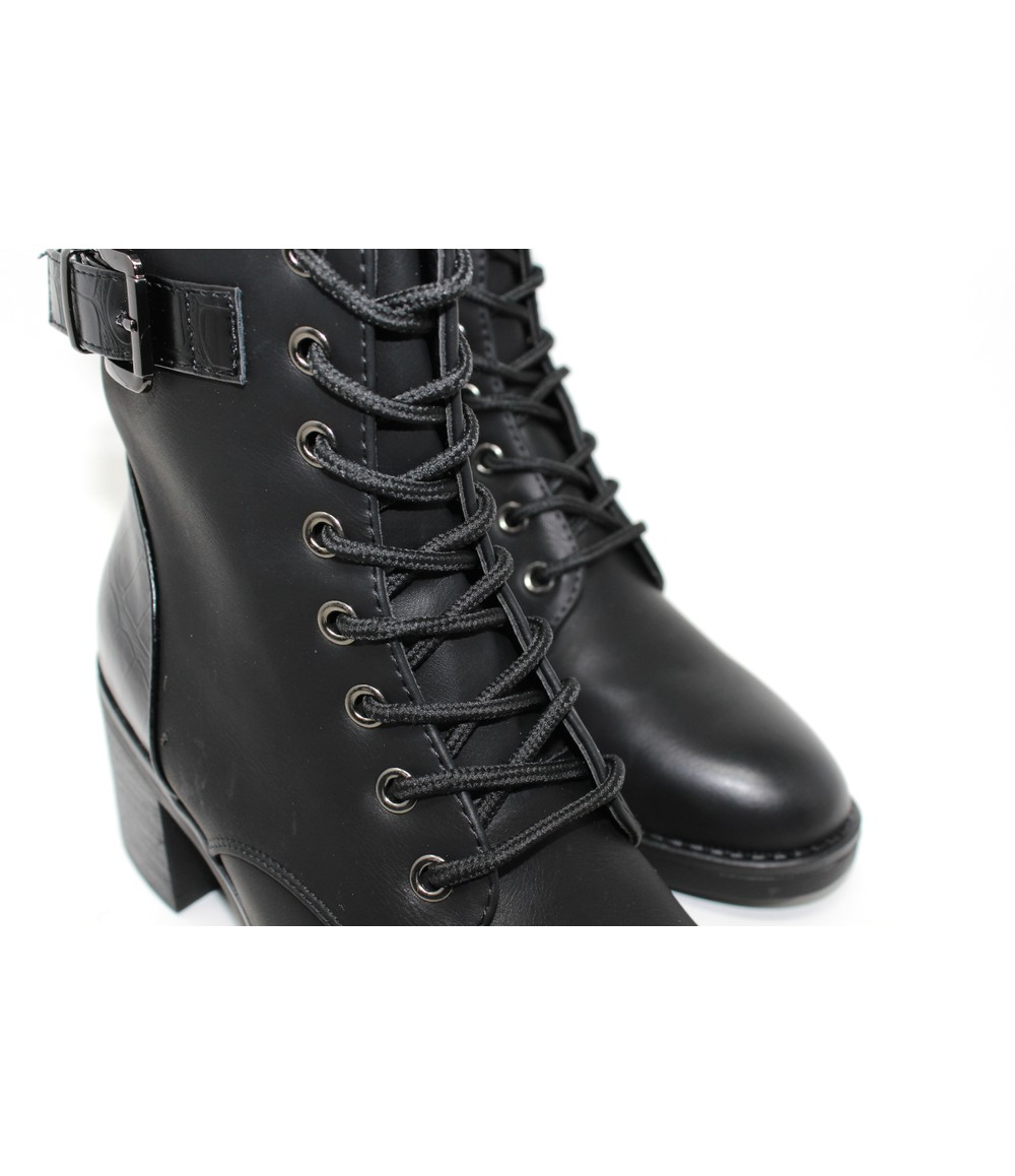 Laced Ankle Boot