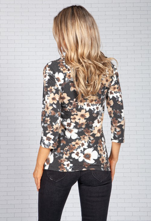 Bicalla Soft Floral Print Top