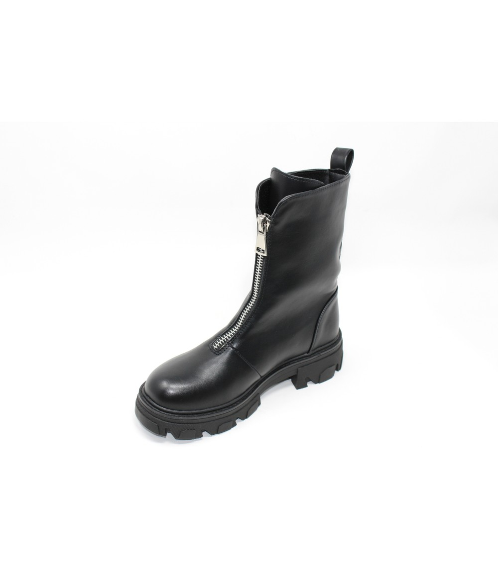 Shoe Lounge Black Rugged Ankle Boot