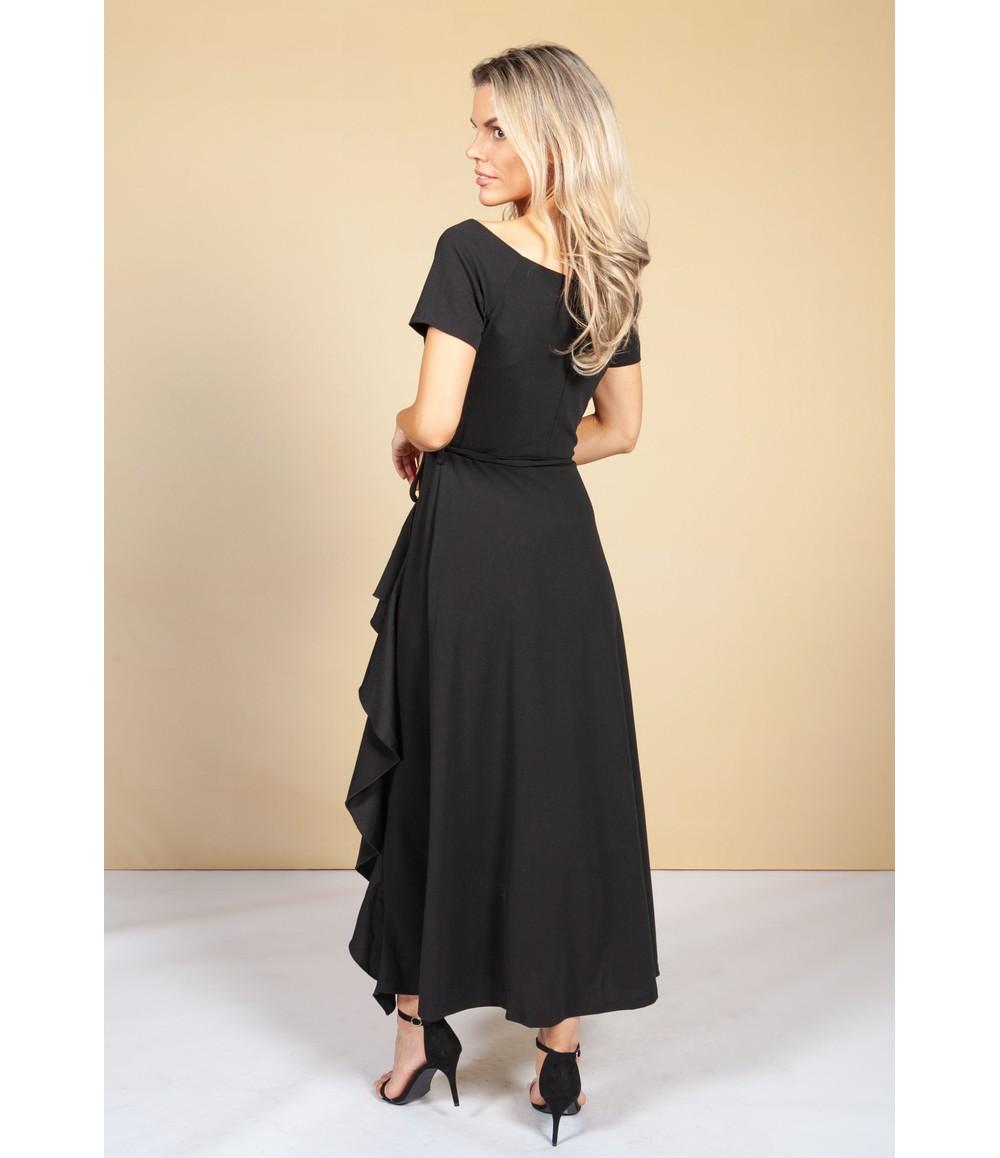 Pamela Scott Black Dress