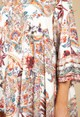 Pamela Scott Tunic Style Dress in Cream Blossom