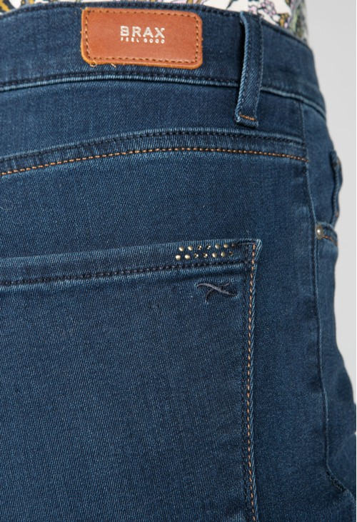 Brax Blue Mary Short Fit Jeans