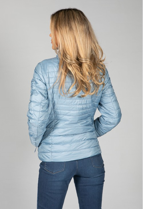 Gerry Weber QUILTED COAT  IN BABY BLUE
