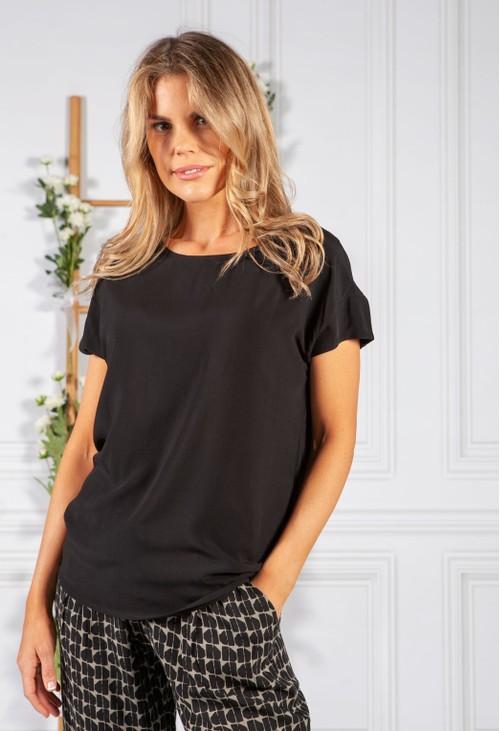 Opus Skita Soft T-shirt in Black