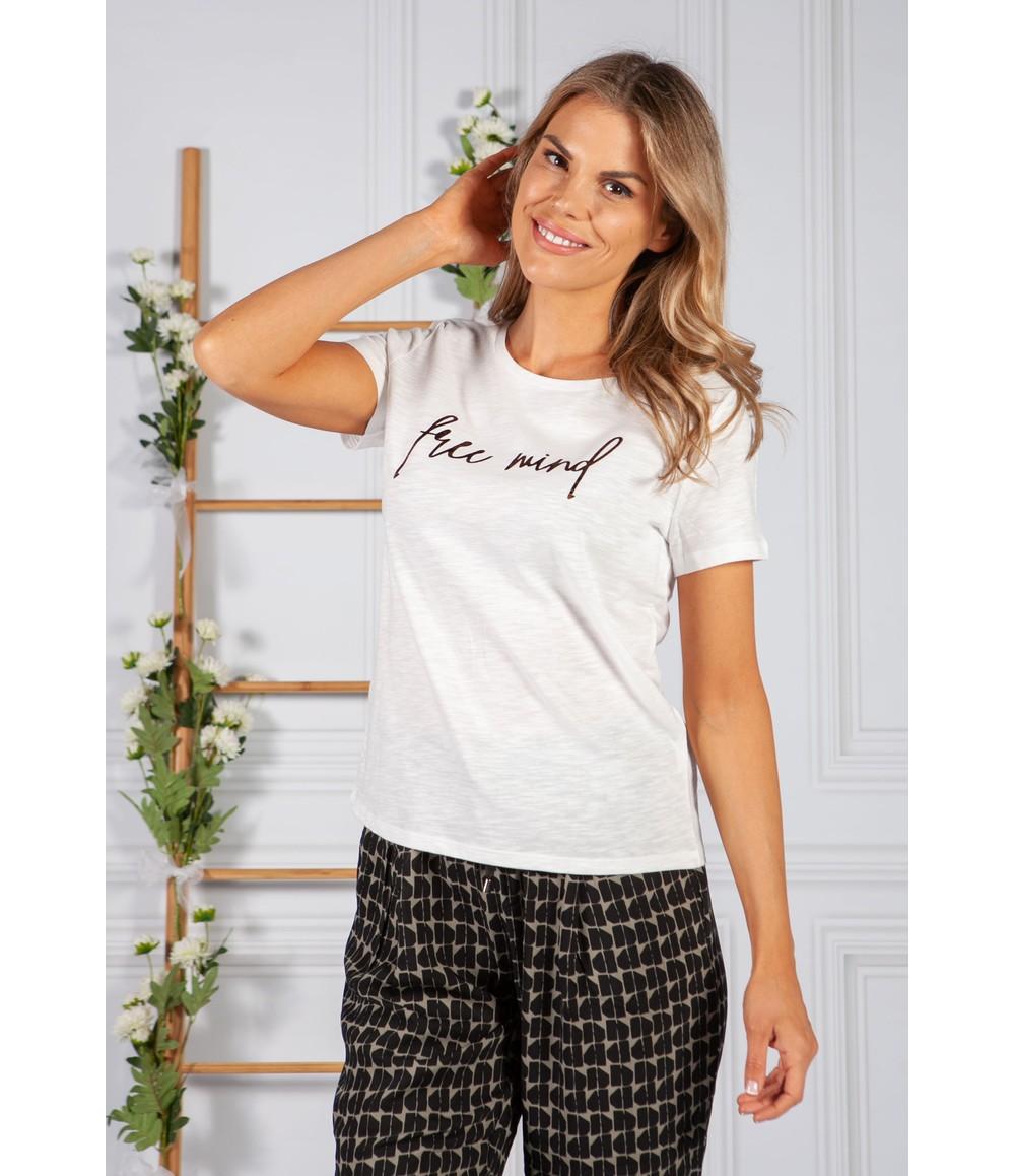 Opus T-shirt Soi mind