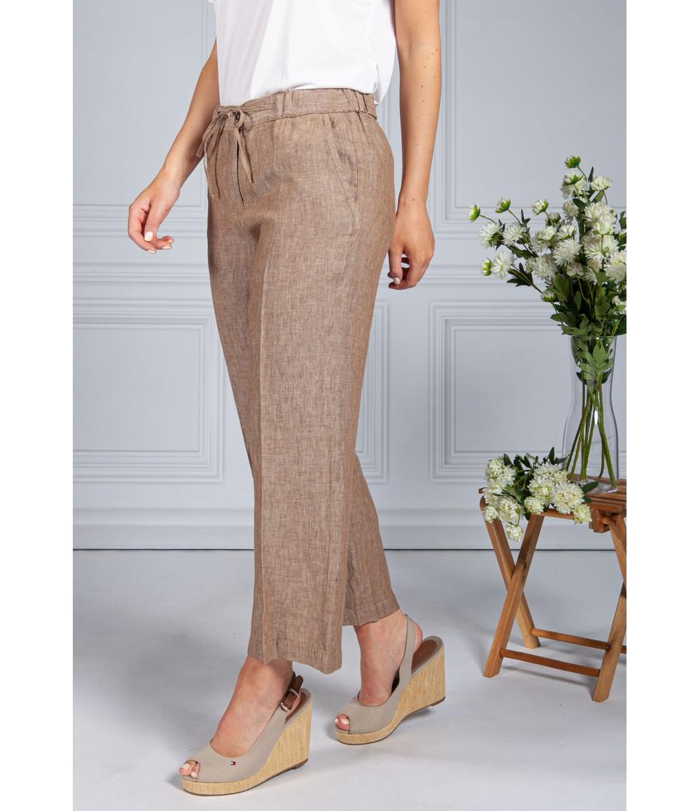 Opus Maritta Linen trousers