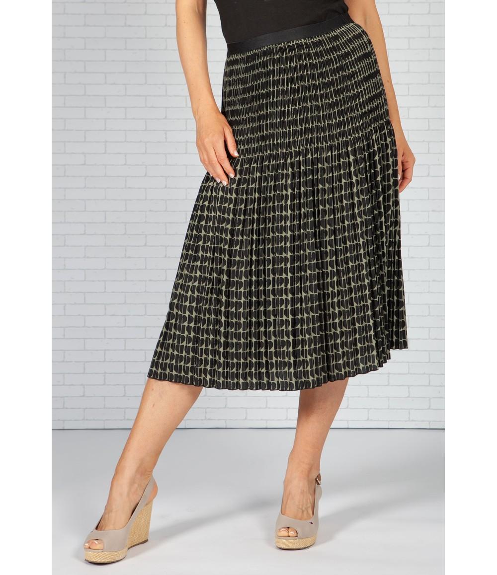 Opus Ribane pleated skirt