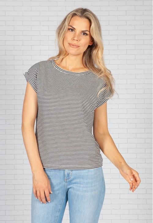 Opus Suffami Stripe shirt