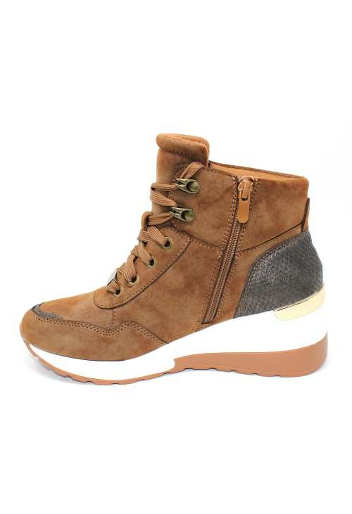 Camel Hiking Look Ankle Boot