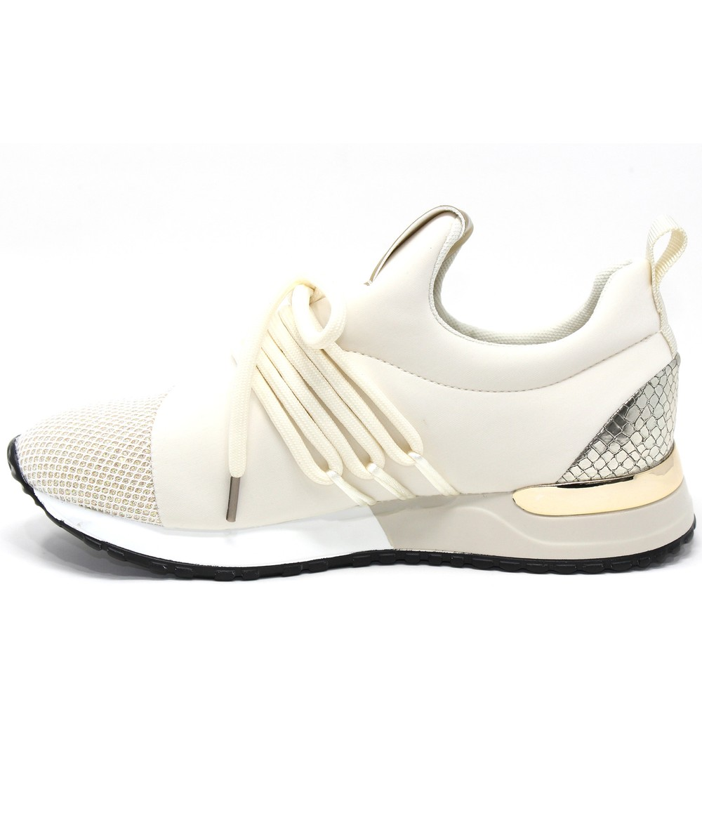 Shoe Lounge Cream slip on trainer
