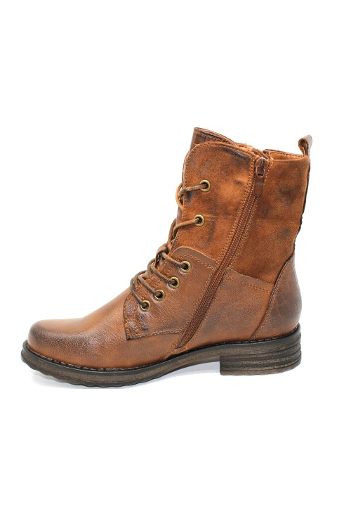 Shoe Lounge Camel Laced Ankle Boot
