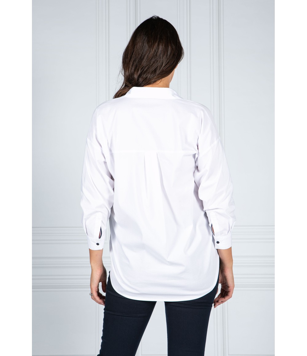 Sophie B Relaxed Fit Shirt in Crisp White