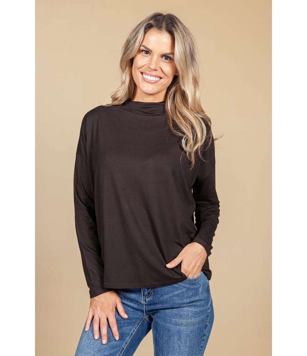Opus Sujane soft Shirt in Truffle